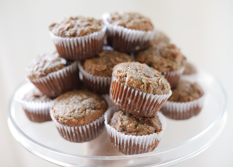 Zucchini Squash Bread Muffins (adapted from The Almond Flour Cookbook ...